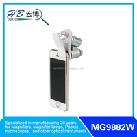 MINI MICROSCOPE with CLIP Can be used in all kinds of mobile phone