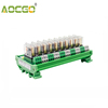 10 Channel 1 SPDT DIN Rail Mount OMRON G2R 12V DC/AC Interface Relay Module