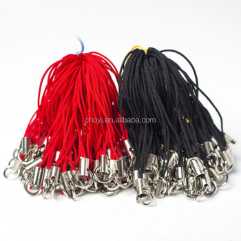 Cheapest double loop rope jewelry accessories mobile phone strap