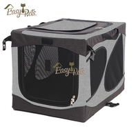 Pet Cag Soft Carrier Foldable Crate Dog Cage Cover