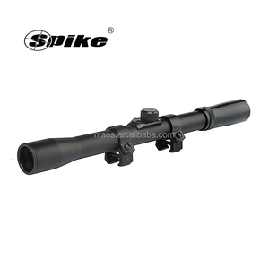 Simple Design Compact 4X20 Sight Rifle Scope with 20mm Mount/Right Shooting
