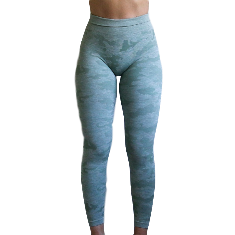 2019 Sexe Frauen Camo Nahtlose Leggings Push-Up Leggins Sport Fitness Running Yoga Compression Hosen OEM Energie Yoga Leggings