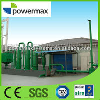 1MW biomass pellet gasification power plant manufacturers in China