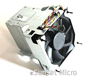 Genuine Dell Optiplex 960 980 CPU Fan Shroud Heatsink for Mini Tower 0N385R