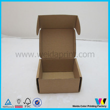 Manufacture made recycled corrugated shipping mailer box