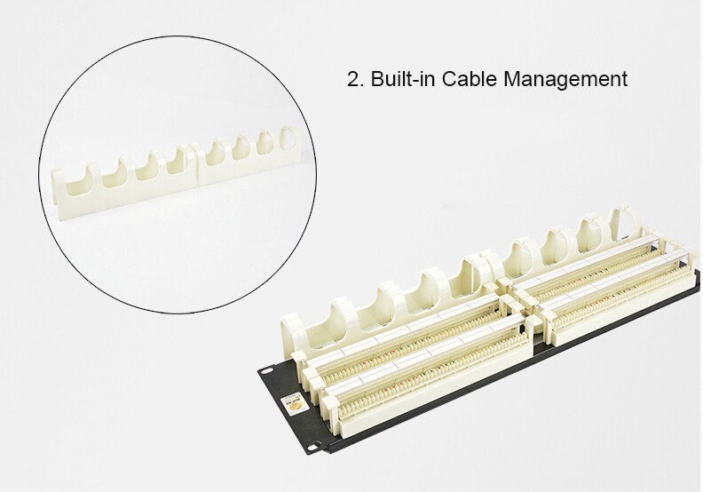 Outstanding 1U 19 200 Pair 110 Voice Patch Panel Amp Telephone Rj11 Voice Wiring 101 Tzicihahutechinfo