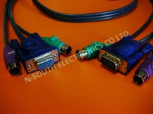 3+4 Copper KVM Switch Cable 1.5m