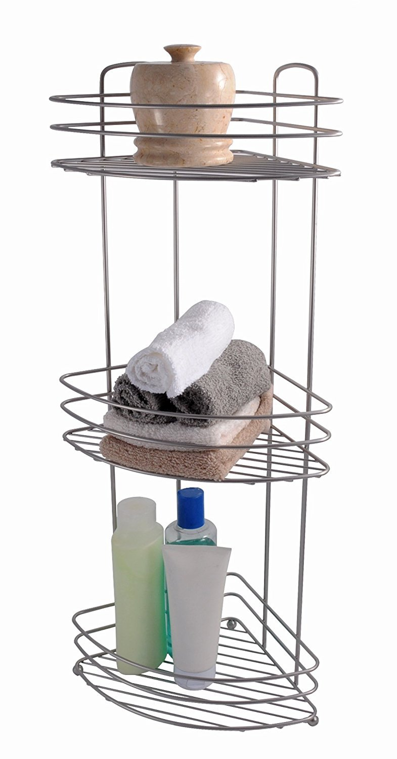 storage for shelves langria metal rack rolling bathroom shelf cart bedroom item mesh kitchen office tier pantry