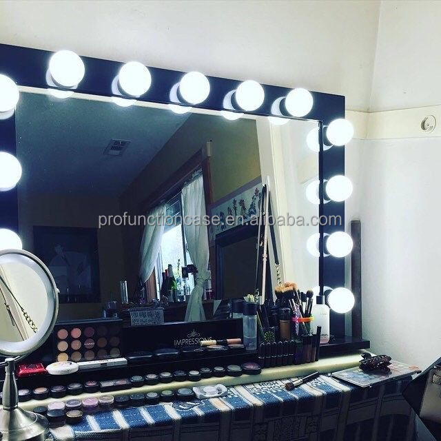 Professionnel studio maquillage miroir avec led lumi res for Miroir indonesia