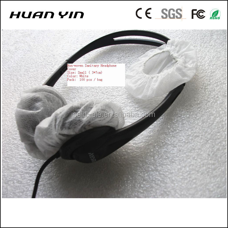 Disposable headset covers replacement headphone anti dust sanitary cover Small size