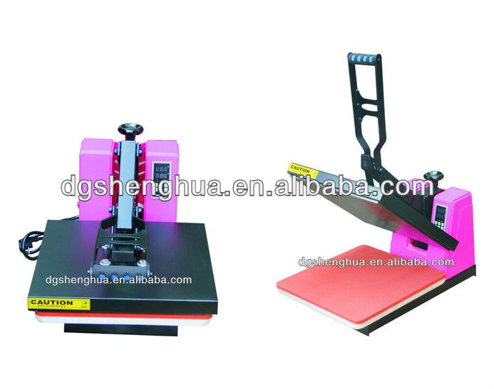 Cloth printing machine hot press