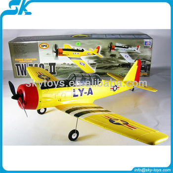 2.4g 4channel Epo At-6 Texan Tw 749-2 Remote Control Rc Airplane ...