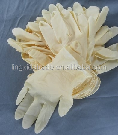 latex medical surgical gloves disposable non sterile examination