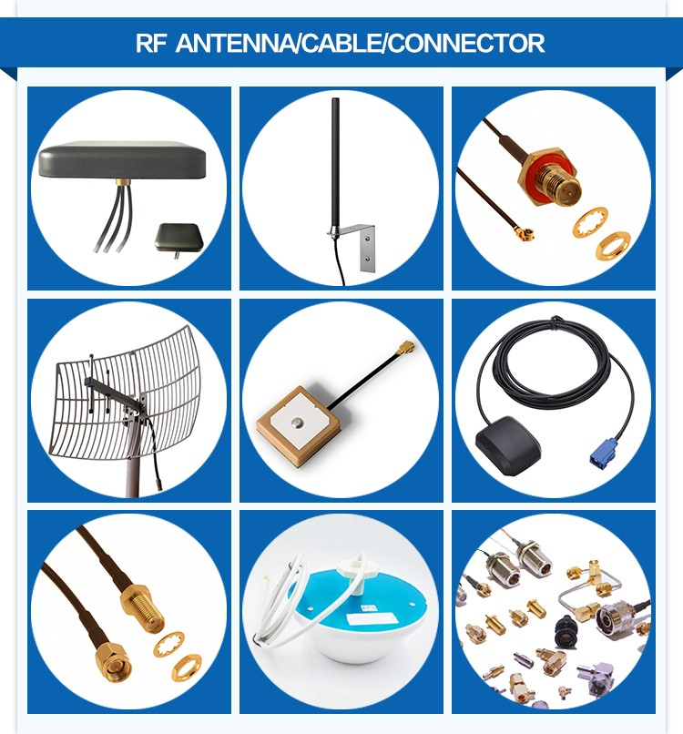 DIN/L29 female with flange mounting microwave equipment RF adapter