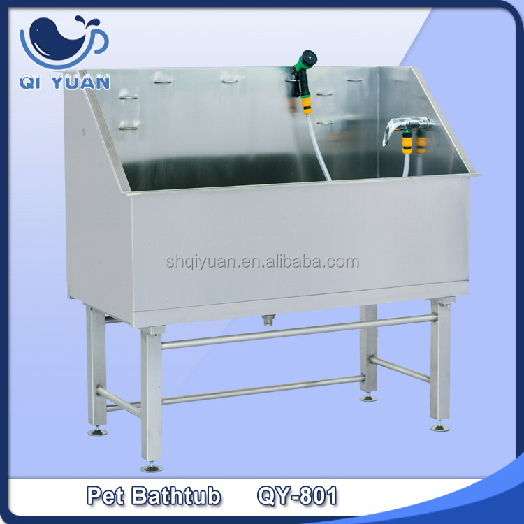 Alibaba china classical yomi stainless steel bathtub for dogs