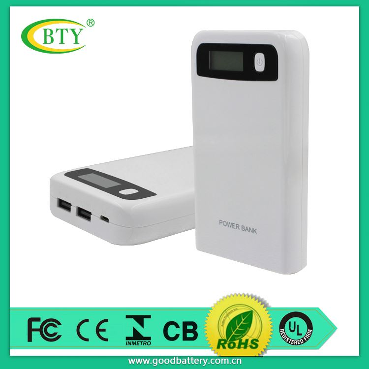 new pattern original emergency 12000mAh dual USB portable charger