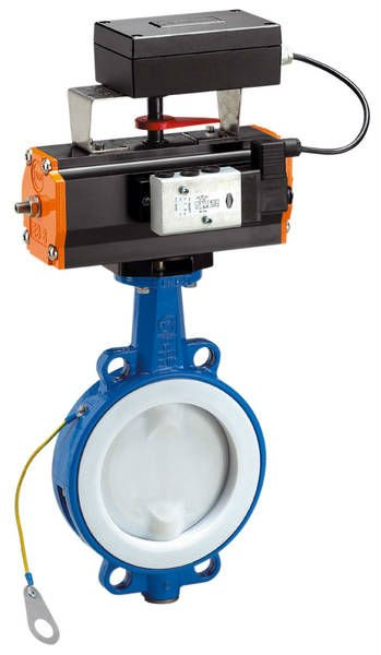 Butterfly Valve and Actuators