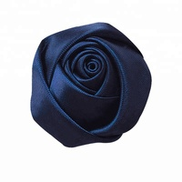 Handmade Artificial Wholesale Cloth Rose Flower Heads 4CM
