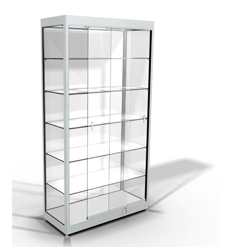 Modern Photo Retail Cosmetic Display Cabinet And Showcase