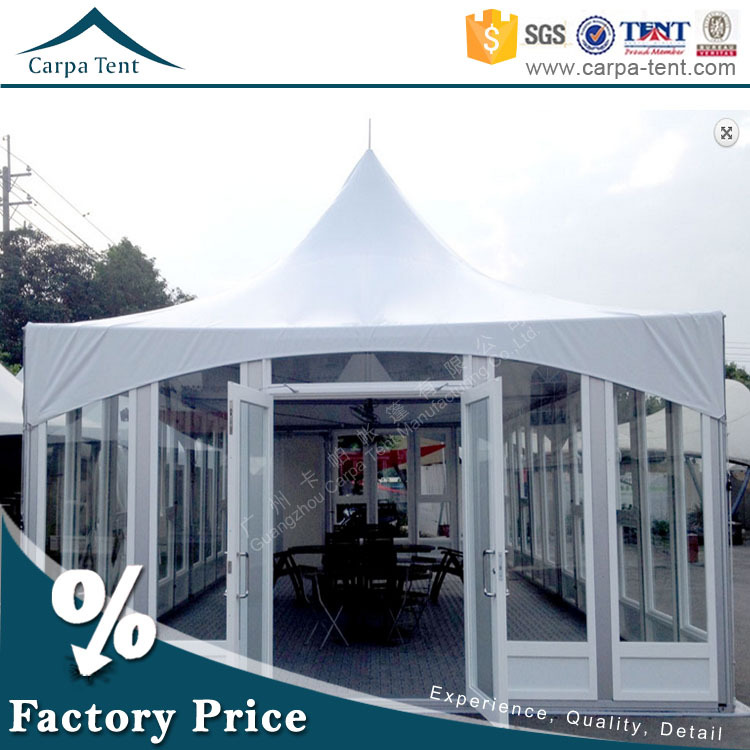 Well Decoration Glass Wedding Canopy Pagoda Tent Suppliers In ...