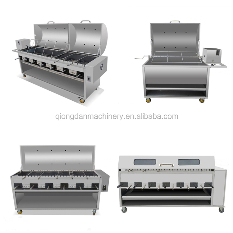 Restaurant use electric gas bbq lamb sheep leg <strong>grill</strong> <strong>machine</strong> for <strong>fish</strong> pig chicken for sale