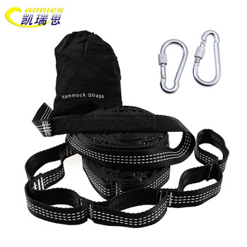 Outdoor heavy duty adjustable and flintiness tree strap