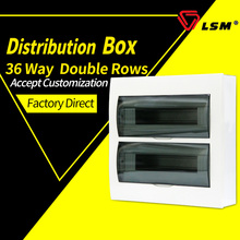 LSM switch box double row 34-36 loop distribution box surface install