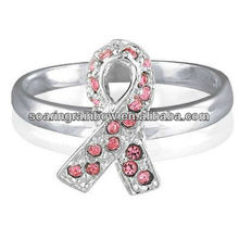silver sterling kandsimpressions rings ring personalized survivor birthstone awareness cancer new