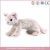 Factory supply high quality lifelike cat plush toy at low price