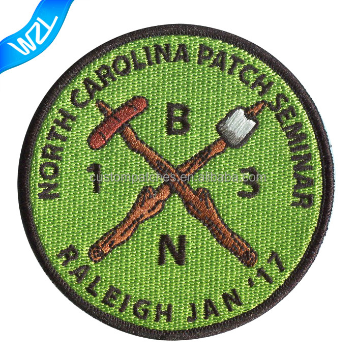 Wholesale patch work design Motorcycle 3D patches