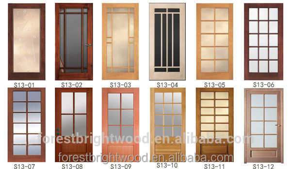 Interior White Powder Room Wood Door With 8 Frosted Glass Buy Wood Door With Glass Room Powder