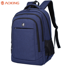 <span class=keywords><strong>Aoking</strong></span> Hoge Kwaliteit Vintage Laptop <span class=keywords><strong>Rugzak</strong></span> 17 Inch <span class=keywords><strong>Rugzak</strong></span> Mannen Tas Terug Waterdichte Polyester Bagpack