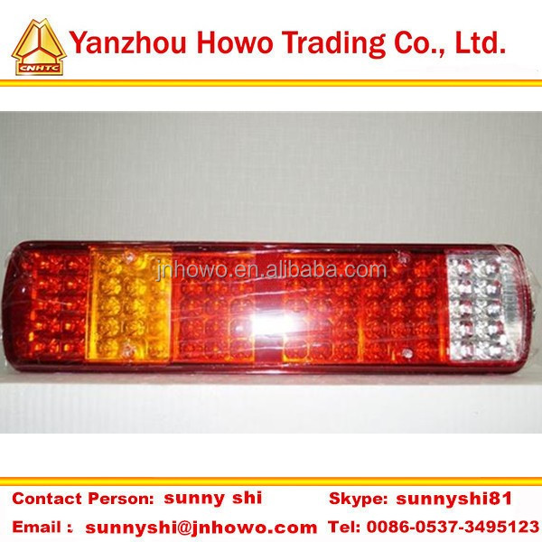 Hot Sale Truck part SINOTRUK led tail light for truck AZ9719818001