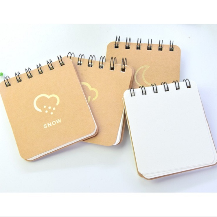 Stationery small beard portable spiral notebook a5 spiral notebook