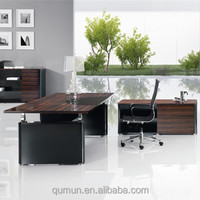 China manufacturer contemporary design high end office boss table