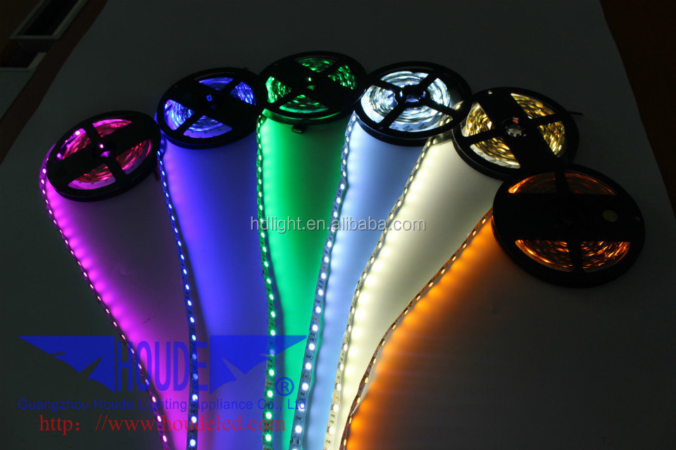 high Quality slime 5050 SMD Yellow Color LED Flexible Strips