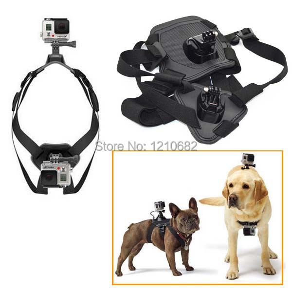 New !! Dog Chest Strap Go Pro Accessories,Gopro Mounts Accessories For Dog Pet