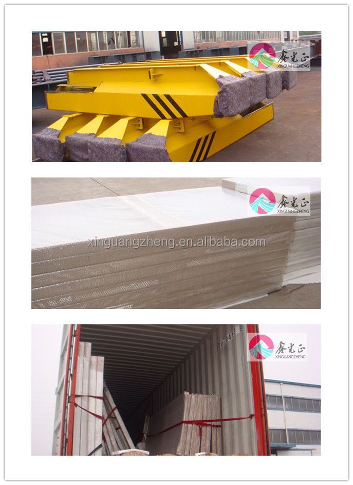 Prefabricated metal structure warehouse building