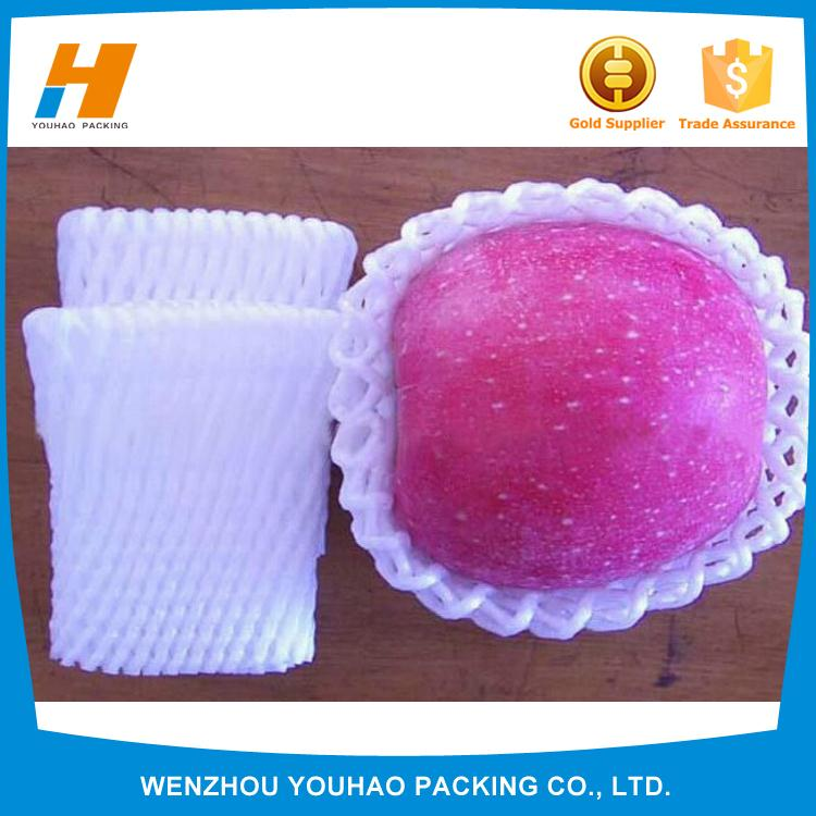 environmental plastic foam sleeve fruit net with cheap price