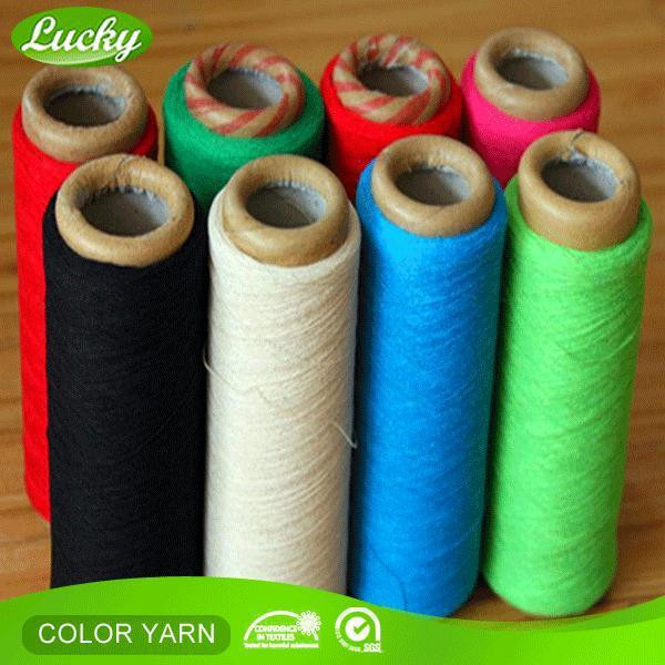 24 hours production A grade recycle cotton terry towel yarn with CE certificate