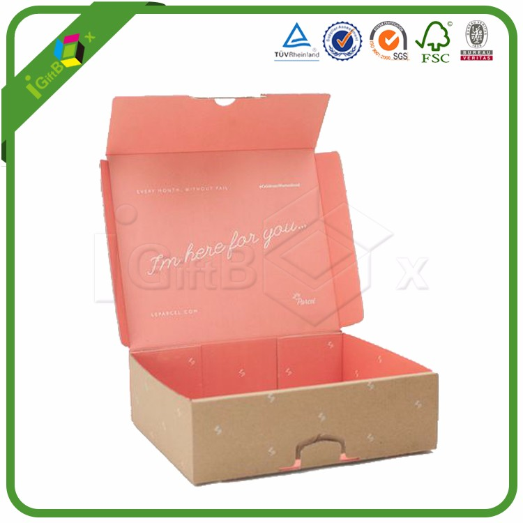 Luxury Custom Cardboard Gift Mailing Mailer Shipping Box Corrugated Paper Packing Carton Packaging Corrugated Cardboard Box