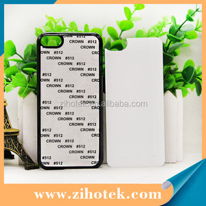 2D sublimation blank mobile cover phone case for iPod touch 6