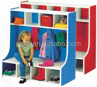Cabinet Design For Clothes For Kids new design kindergarten kids wood clothes cabinet,children cabinet