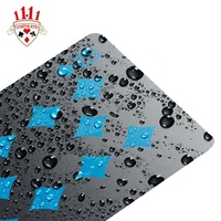 High End Best Quality Waterproof 100% Recycled Plastic Playing Cards
