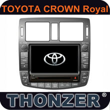 2 Din Touch screen gps navigation system car dvd gps for toyota royal crown 2013