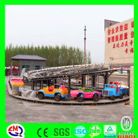 Amusement equipment park racing game toy train track