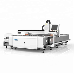 Jinan Manufactures CNC New 1000w Metal Plate And Pipe Fiber Laser Cutting Machine