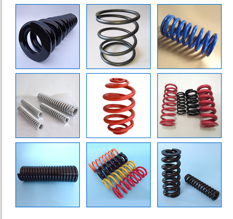 Vibrating screen spring Vibration absorber Spring for Using on Mining Machine
