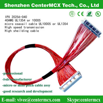 Ipex 20265 10005 1354 Thin Coaxial Heating Tv Cable With Connector ...