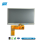 50 pins 300 nits luminance LVDS interface 7 inch lcd monitor with Resistive touch panel